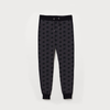 Women Winter Gray Start Printed Joggar Pant