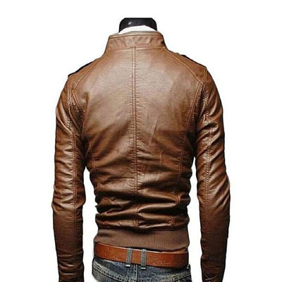 PU Leather Jacket For Men CB666