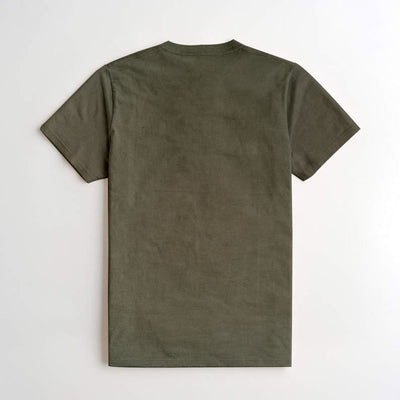 Zara Skin and Green Classical T-Shirt for Men