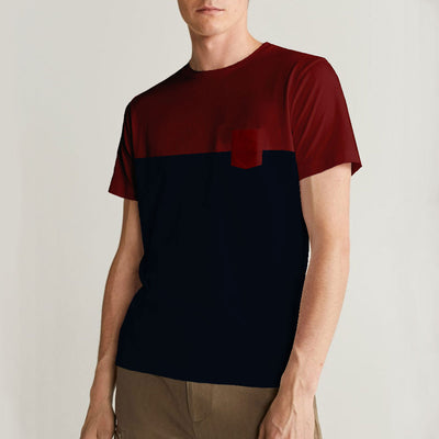ZRA Red Navy Classical T-Shirt