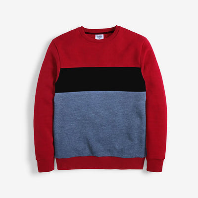 Exclusive Contrast Panel Sweat Shirt