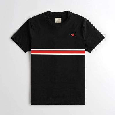 HLSTR BLACK STYLISH T-Shirt