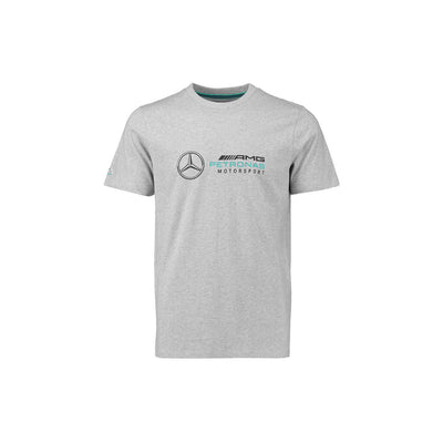 MERCEDZ PRINTED GREY T SHIRT