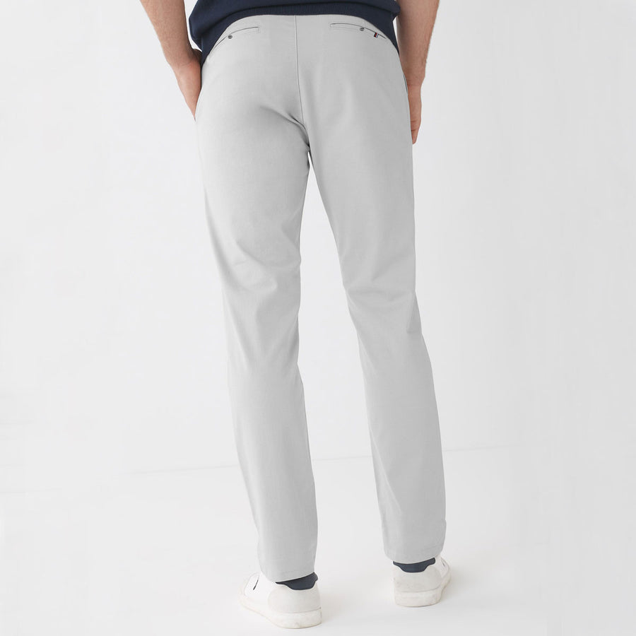 ZR MAN STONE SILVER NARROW COTTON PANT