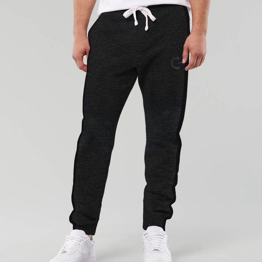 Amazing Black Ripple Cut Panel Trouser