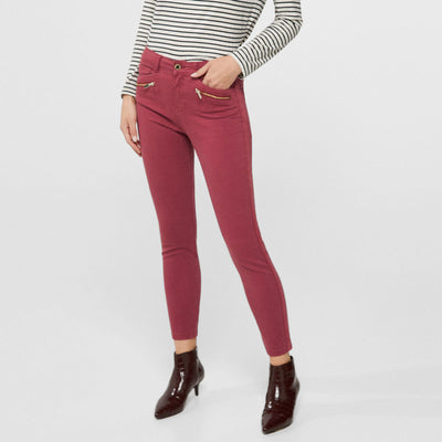 Amazing Plum Women Cotton Pant
