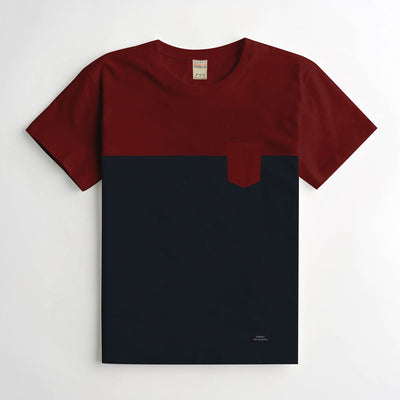 ZRA Red & Navy Classical T-Shirt