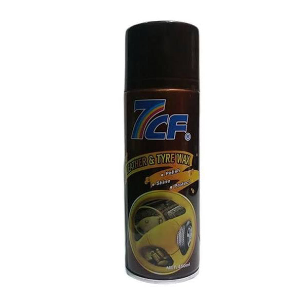 7CF Leather & Tyre Wax