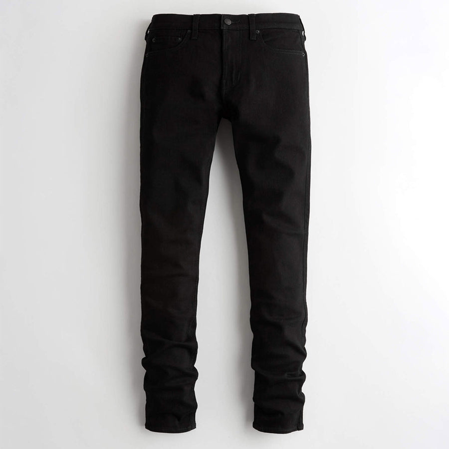 LZER Jet Black Slim fit Jeans