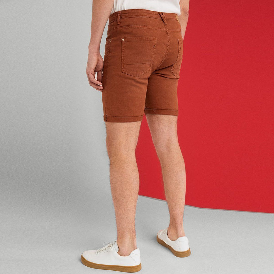 Sprng Field Elegant Brown Denim Shorts