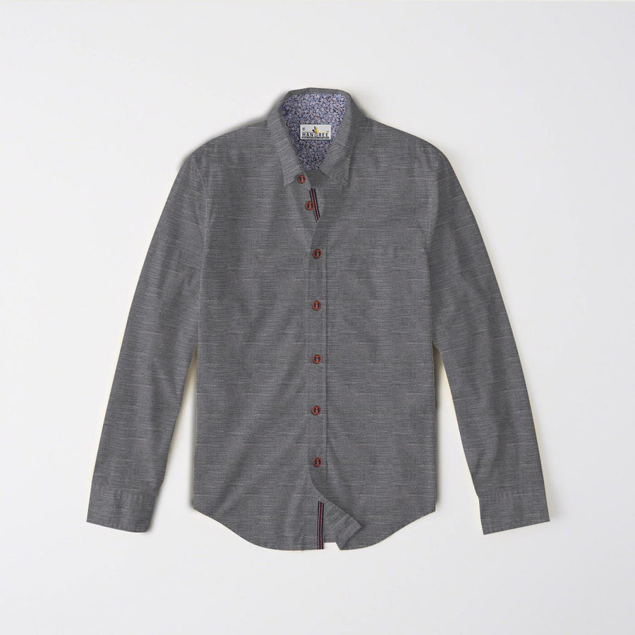 Frederick plane rough casual shirt