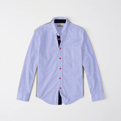 Contrast Casual Shirt