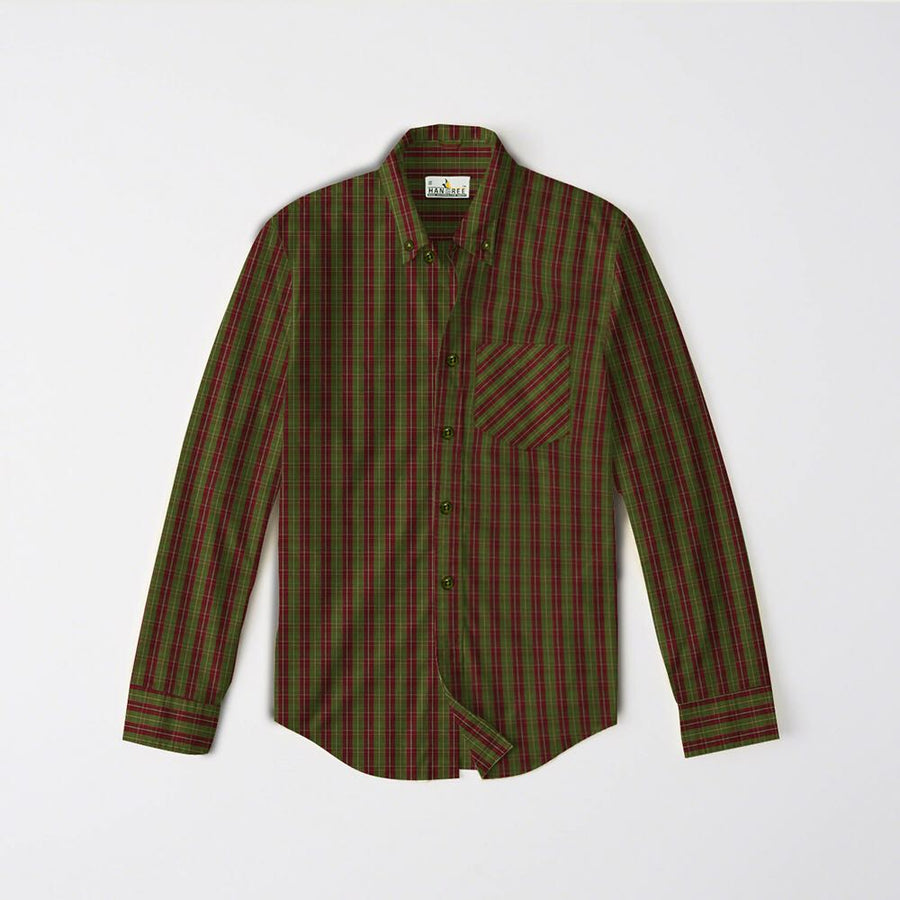 Men Cotton Casual Shirt