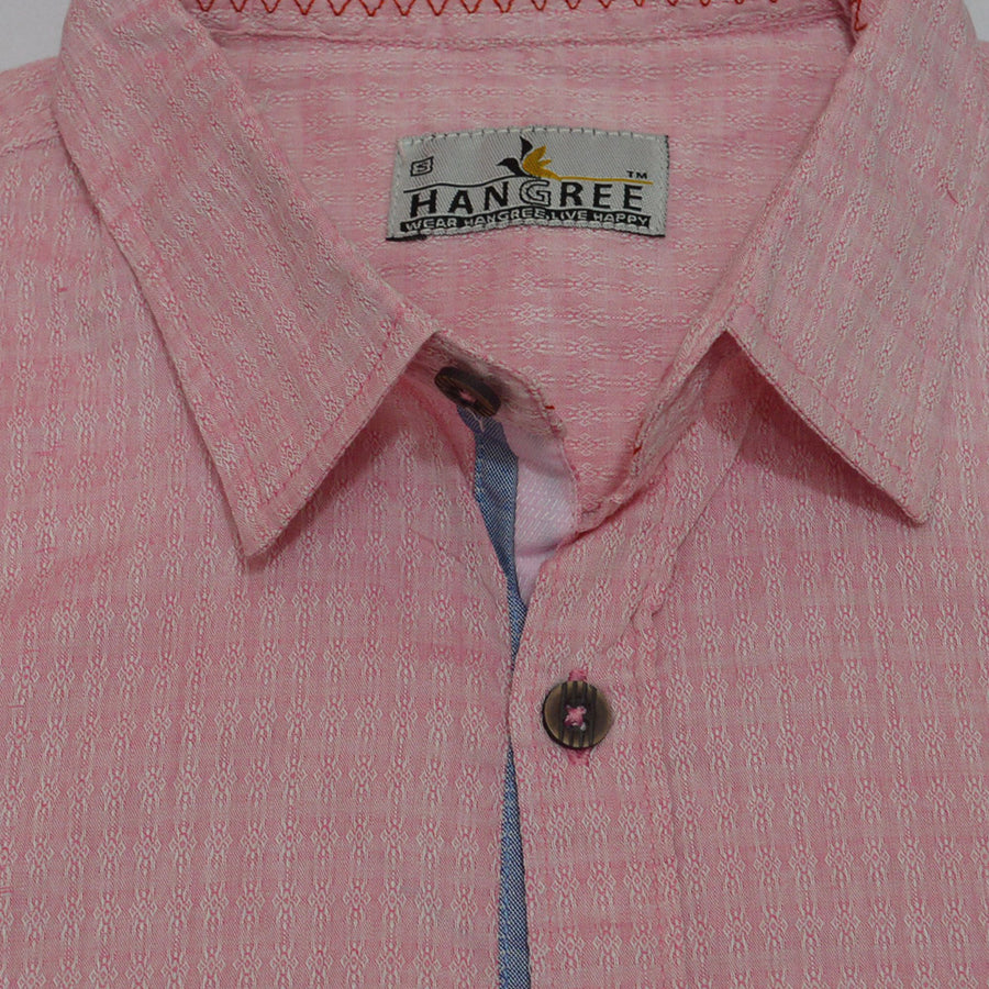 Unique Pink Casual Shirt
