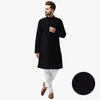 hangree premium black kurta