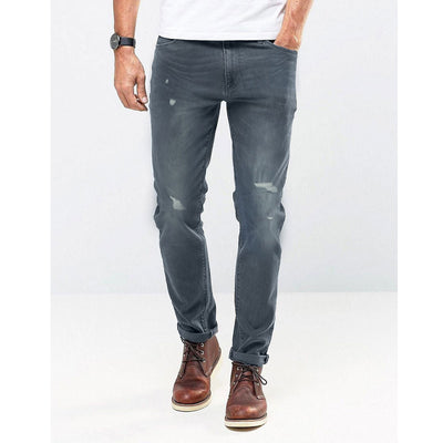 GUESS ROUGH STYLE GREY DENIM PANT