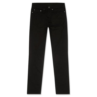 NEW LOoK BLACK SKINY STRCH JEANS for Men