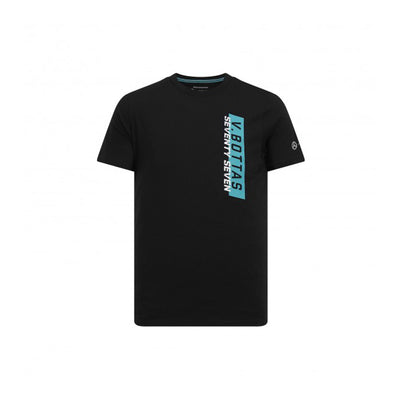MERCEDZ NAME PRINTED BLACK T SHIRT