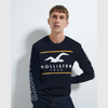 HLSTR Navy Sweat Shirt