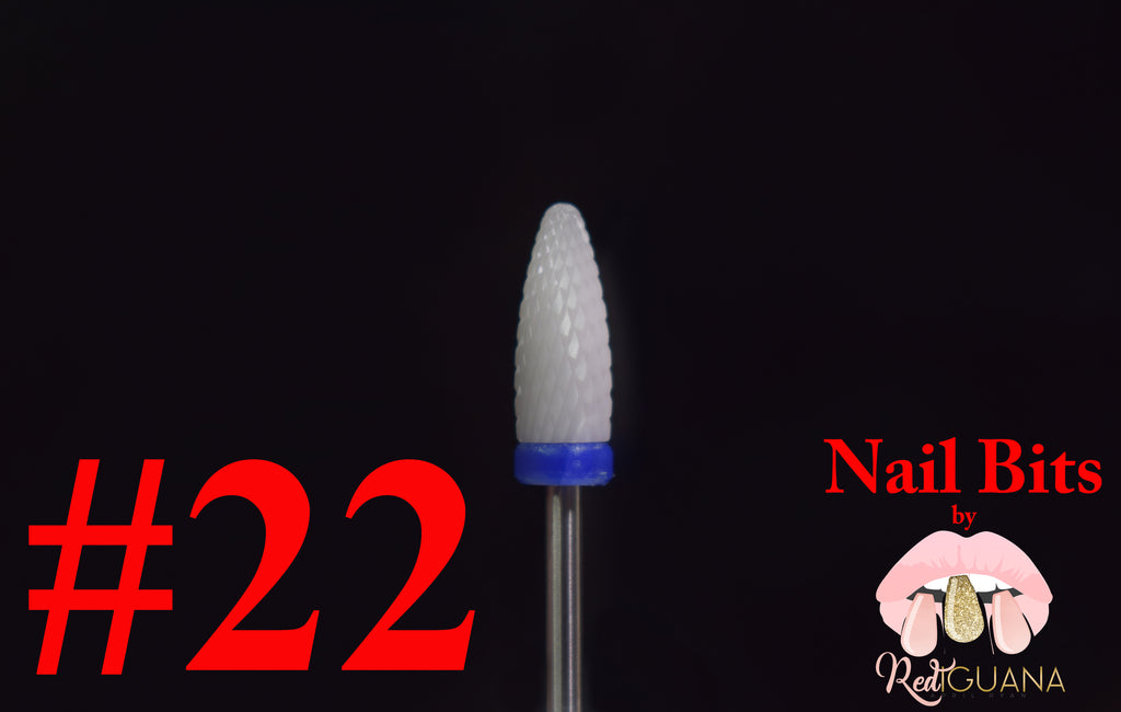 Corn Shaped Nail Bit #22 - Ceramic