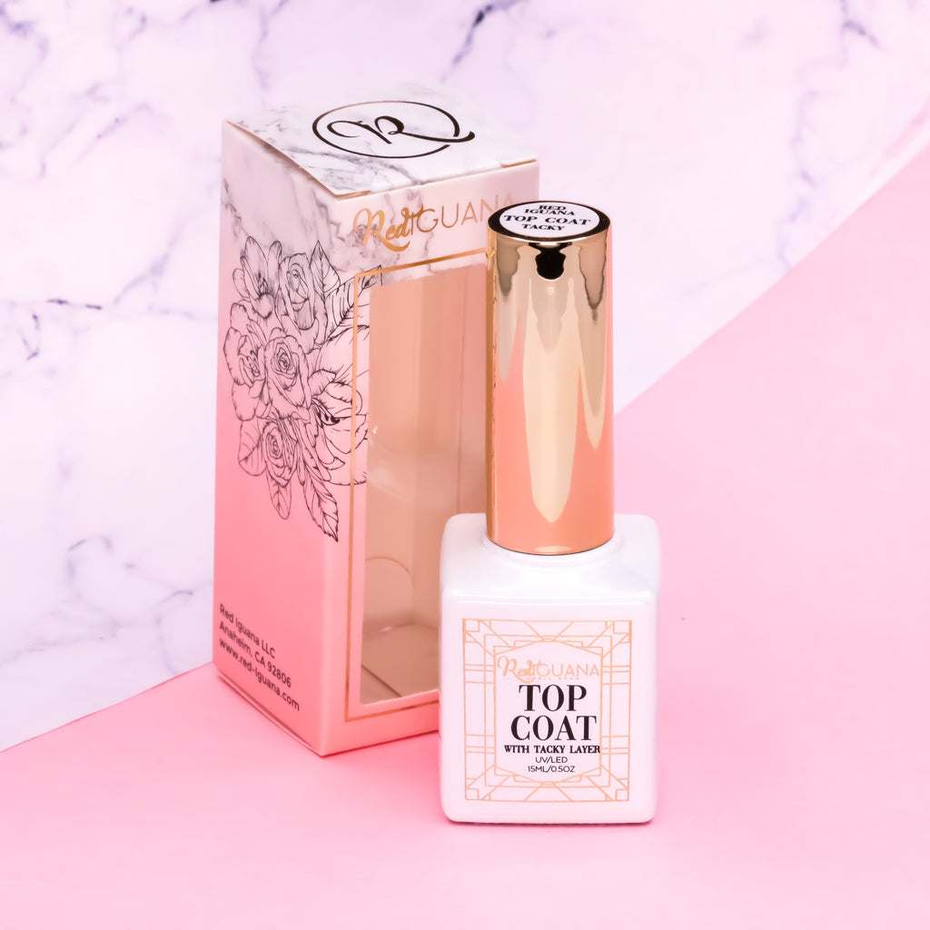 Top Coat with Tacky Layer