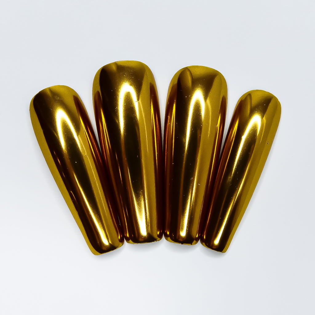 Gold Metallic Chrome Pigment