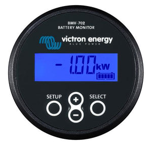 4thD Solar Victron Battery Monitor BMV-702- Black, Battery Monitoring,Victron