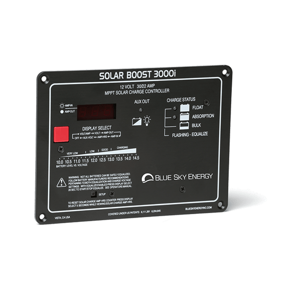 Blue Sky Energy Solar Boost 3000i 30A/22A, @12V Solar charge controller with MPPT - 4thDsolar