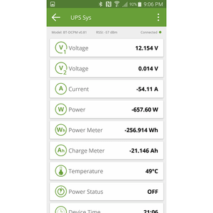 Bluetooth Battery Monitoring System- Thornwave PowerMon - 4thDsolar
