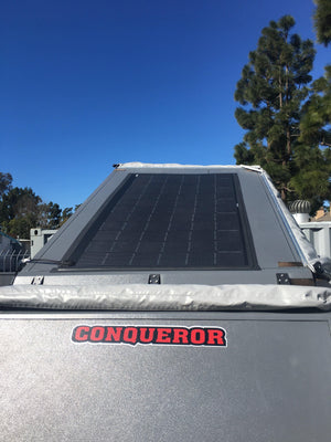 4thD Solar Conqueror UEV-440 FX72P 330 Watt Solar Panel- Low Profile Junction, Solar Panel,4thDsolar