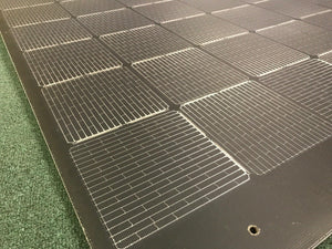 4thD Solar HX36 160 Watt Solar Panel- Low Profile Junction, Solar Panel,4thDsolar