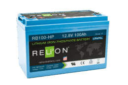4thD Solar RB100 HP Lithium Battery, Battery,Relion