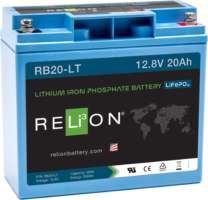 4thD Solar RB20-LT Low Temp Lithium Battery, Battery,Relion
