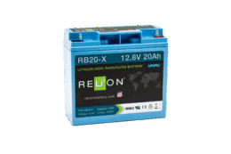 4thD Solar RB20-X Lithium Battery, Battery,Relion