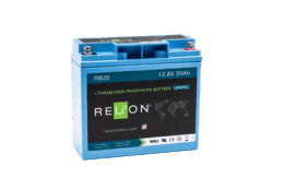 4thD Solar RB20 Lithium Battery, Battery,Relion
