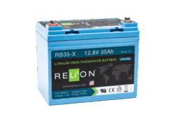 4thD Solar RB35-X Lithium Battery, Battery,Relion