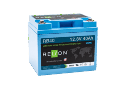 4thD Solar RB40 Lithium Battery, Battery,Relion