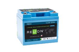 4thD Solar RB50 Lithium Battery, Battery,Relion