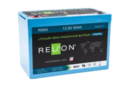 4thD Solar RB80 Lithium Battery, Battery,Relion