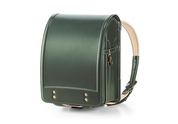 color: Deep Green, title: Leather Randoseru Deep Green