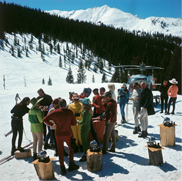 Snowmass Picnic by Slim Aarons - FINEPRINT co
