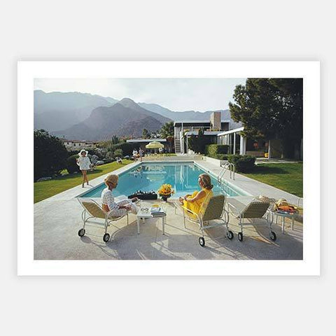 Poolside Gossip by Slim Aarons - FINEPRINT co