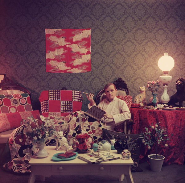 Capote At Home by Slim Aarons - FINEPRINT co