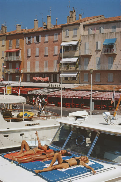 Saint-Tropez by Slim Aarons - FINEPRINT co