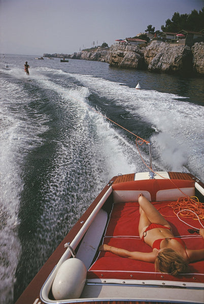Leisure In Antibes by Slim Aarons - FINEPRINT co