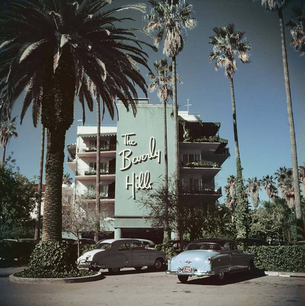 Beverly Hills Hotel by Slim Aarons - FINEPRINT co