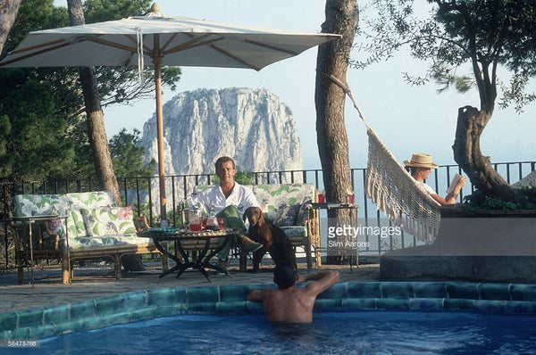Capri Hotel by Slim Aarons - FINEPRINT co
