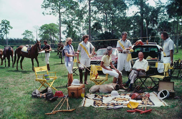 Polo Party by Slim Aarons - FINEPRINT co