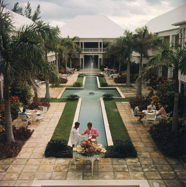 Ocean Club On Paradise Island by Slim Aarons - FINEPRINT co