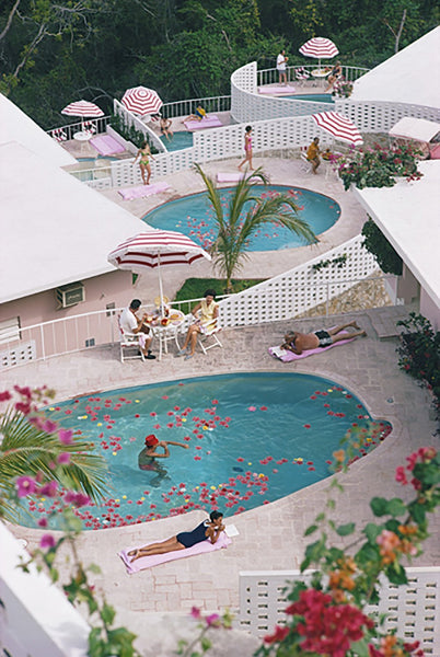 Las Brisas Hotel by Slim Aarons - FINEPRINT co